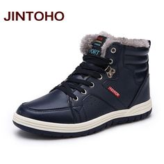 Men's Fashion Leather Fur-Lined Casual Quality Ankle Boots 3 Colors