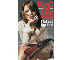 When you purchase the Original KQC #flatiron - you'll receive a FREE FITI Heat Resistant Pouch & a FREE KQC Thermal Shine Spray! http://www.fabove.ca/kqc-x-heat-ceramic-styling-iron-kr-105r #hair