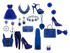 """""""Royal BLUE """" by sophiexoxoxox on Polyvore featuring Michael Kors, Prada, Yves Saint Laurent, Kate Spade, Azalea, Bling Jewelry, Chanel, WearAll and CÉLINE"""