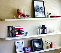 I want to make this!  DIY Furniture Plan from Ana-White.com  Floating shelves can bring a little architectural interest to an otherwise blank wall. These floating shelve are easy to hang and remove, and can be made as long as you wish. Inspired by Young House Love's Floating Shelves. Special thanks to Ashleigh for sharing her photos.
