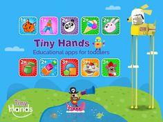 Welcome to TinyHands Educational apps for toddlers  - široká paleta hier pre najmenších