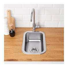 second sink - with built in bio-tonne disposal