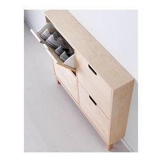 STÄLL Schoenenkast 4 vakken IKEA Voor het overzichtelijk opbergen van je schoenen en tegelijkertijd meer vloerruimte.