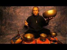 Plexus Chakra Meditation Series Note E using Four Antique Tibetan Singing Bowls of Unsurpassed Sound Quality. E is the corresponding Chakra Ton.