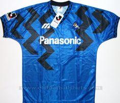Gamba Osaka Casa camisa de futebol 1993 - 1995