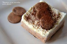Bavarese ai tre cioccolati senza glutine-Una siciliana in cucina