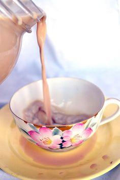 Homemade Vanilla Chai Tea Latte {Giving Thanks}