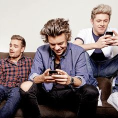 They're texting me obvs