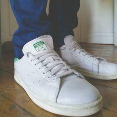 Mes #StanSmith remisent état par #CleanMyShoes ! Je vous en parle sur le blog (lien direct dans ma bio) ! #Sneakers #adidas #kicksoftheday #kicks #shoes #basket #