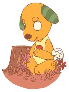 14 Animal Crossing Best Villager Biskit Images Animal Crossing