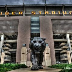 LSU Tiger Stadium. Badass.