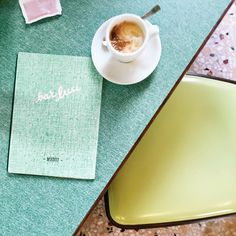 We had breakfast at the lovliest place ever this Morning in Milan - Bar Luce designed by Wes Anderson himself  by sandandsuch