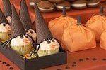 Cutest Halloween cupcakes. Dessert table by Amy Atlas.