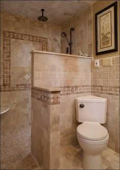 Walk In Shower Designs No Glass by monika.zajac.5070