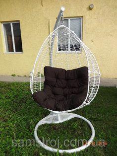 Подвесное кресло, качеля, кокон, яйцо Вайт Нюська, фото 1