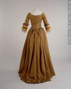 Dress  About 1770, 18th century  Gift of Mrs. Mary Montizambert Harris
