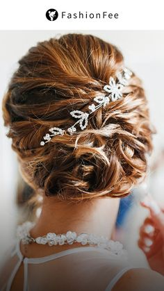 Bridal Makeup, Bridal Hair, Peinado Updo, Hair Upstyles, Braut Make-up, Different Hairstyles, Prom Hair, Hair Trends, Veil