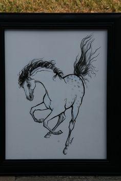 Horse art...Sabine Hahn