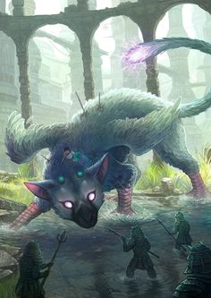 Fanart The Last Guardian - Fight by o0dzaka0o