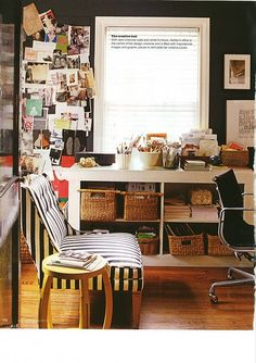 black and white striped chair   office spaces   black and white office