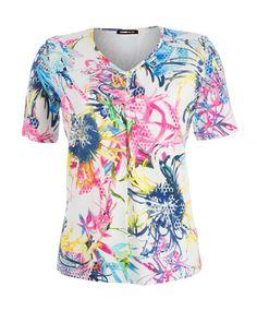 Frank Walder T-shirt Rood S63105411   Van Tilburg