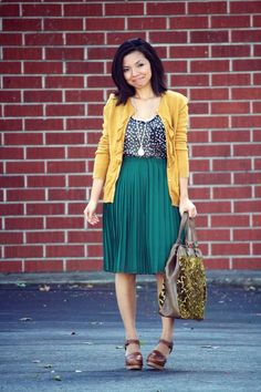 color patterns, work outfits