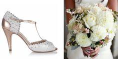 Zapatos de novia Monique bronce en www.egovolo.com