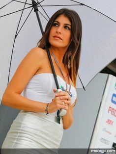 Gorgeous MotoGP Paddock girls at Aragon, 2013 Motogp, Promo Girls, Motosport, Dresses For Work, Sexy, Fashion, Door Prizes, Auto Racing, Moda
