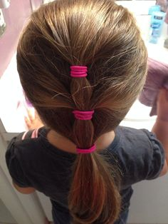 Easy hairstyle for little girl