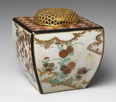 Nonomura Ninsei: Incense burner (koro) (29.100.668) | Heilbrunn Timeline of Art History | The Metropolitan Museum of Art