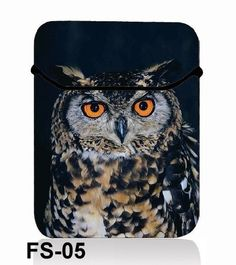 "15"" Owl Laptop Sleeve Flip Bag Case Cover for Dell Inspiron 15R XPS 15z HP Envy | eBay"