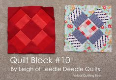 Diary of a Quilter - a quilt blog: The Virtual Quilting Bee   16 different blocks