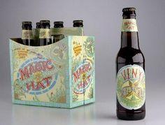 Cerveja Vinyl Lager, estilo Amber Lager, produzida por Magic Hat Brewing Company, Estados Unidos. 5.1% ABV de álcool.