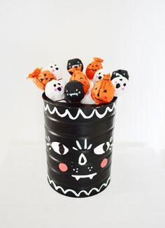 decorated lollipops