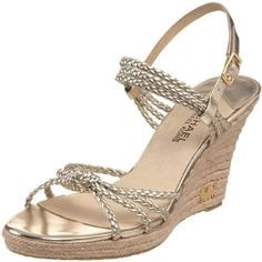 Michael Kors Palm Beach sandal. Says it all. Look like you have Palm Beach style no matter where you are. Great basic!
