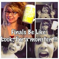 Study like a Rockstar, don't let this be you during finals week! Get ahead and read these tips!