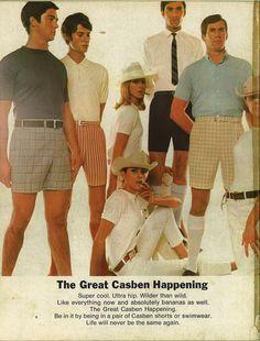 Casben shorts ad, 1968