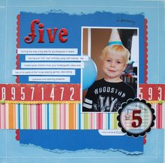 Five (*Core'dinations* and October Afternoon) - Scrapbook.com