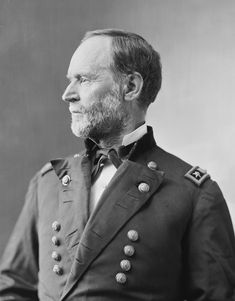 William T. Sherman, Portrait by Mathew Brady or Levin C. Handy, between 1865 and 1880