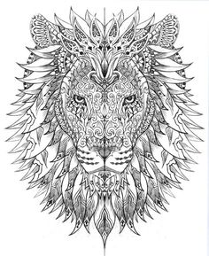 Raja of the Jungle by BioWorkZ , via Behance SO AWESOME