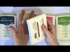 Mega Stampin' Up Haul - Stampin' Up Ink Pads - YouTube