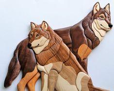 Intarsia Wood Patterns, Wood Craft Patterns, Wood Carving Patterns, Carving Wood, Wood Pig, Intarsia Woodworking, Wooden Animals, Animal Decor, Wooden Art