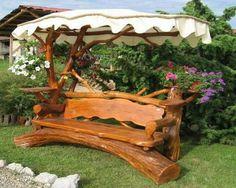 Banc de jardin en bois- 15 idées design tendance et classiques | Bench
