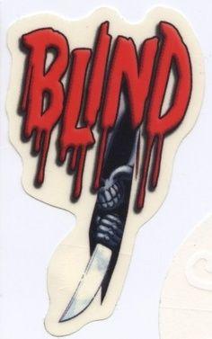 Blind Skateboards Slasher Sticker