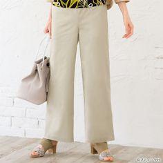 60代&70代におすすめ!おしゃれな秋の手作り大人服の作り方7選 | ぬくもり Wide Pants, Khaki Pants, Merchant And Mills, Fashion Background, Pants Pattern, Skirt Pants, Handmade Clothes, Fashion Outfits, Womens Fashion
