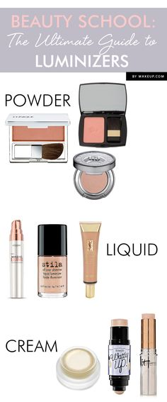 Beauty School: The Ultimate Guide to Luminizers // great products!