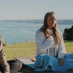 Yoga retreat 2020 <3 meditatjon girl raglan beach cliff yoga concussion Yoga Retreat, Cliff, Rain Jacket, Windbreaker, Beach, Jackets, Fashion, Down Jackets, Moda