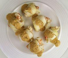 Filete de lenguado con salsa de setas y gambaspara #Mycookhttp://www.mycook.es/receta/filete-de-lenguado-con-salsa-de-setas-y-gambas/