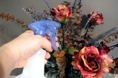 Como Limpar Flores Artificiais