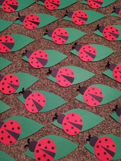 Lady Bug door decs! #RA #reslife #doordecs #PittState
